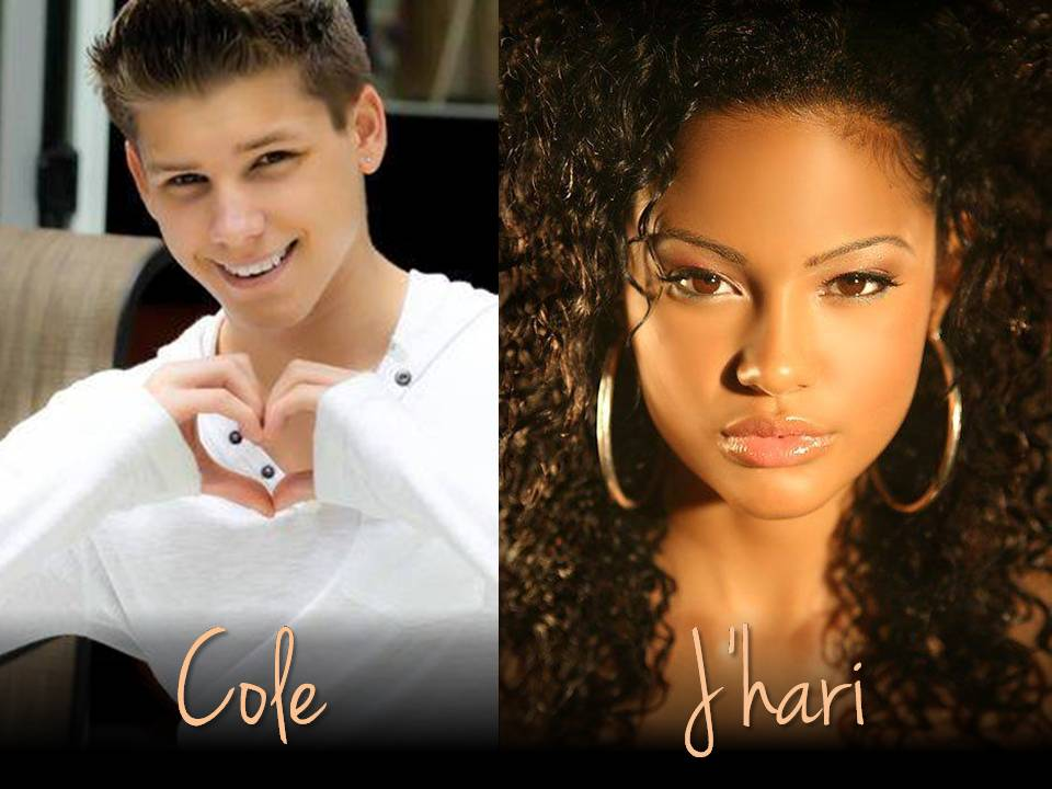 The young love of Cole and J'hari